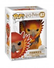 Funko POP Harry Potter - Fawkes, caixa