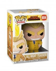 Funko POP Anime - My Hero Academia - Teacher All Might, caixa