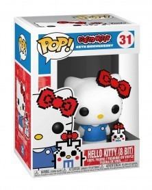 Funko POP Hello Kitty - Hello Kitty (8-Bit), caixa
