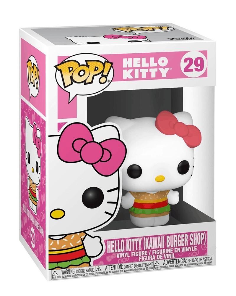 Funko POP Hello Kitty - Hello Kitty (Kawaii Burger Shop), caixa