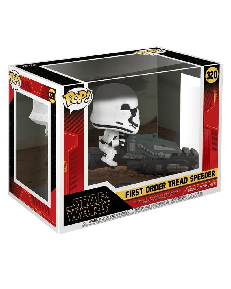 Funko POP Star Wars Ep.9 - Rise of Skywalker - First Order Tread Speeder, caixa