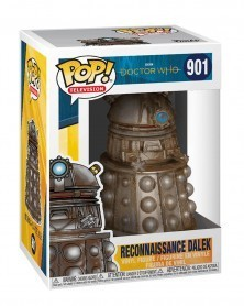 Funko POP Television - Doctor Who - Reconnaissance Dalek, caixa
