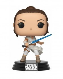 Funko POP Star Wars Ep.9 - Rise of Skywalker - Rey, caixa