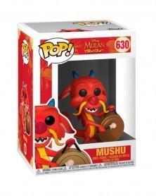 Funko POP Disney - Mulan - Mushu with Gong, caixa