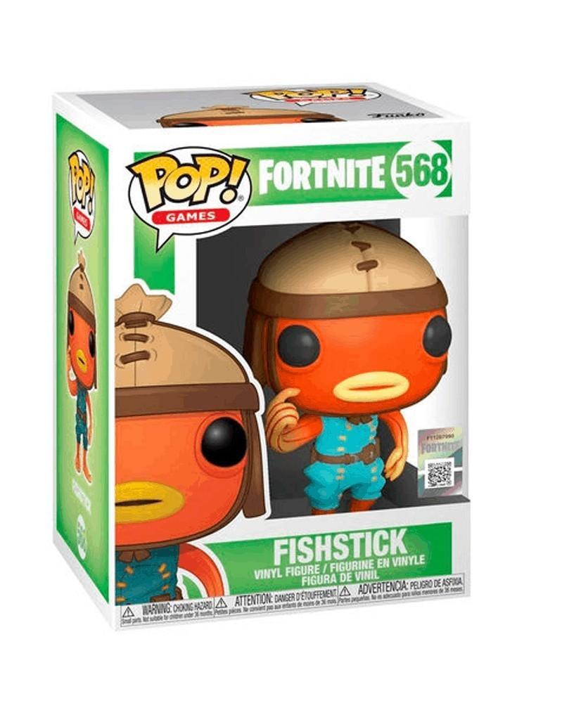 Funko POP Games - Fortnite - Fishstick, caixa