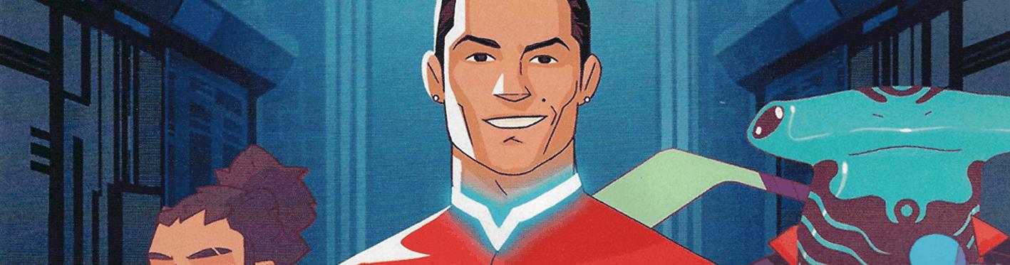 Cristiano Ronaldo, herói de BD