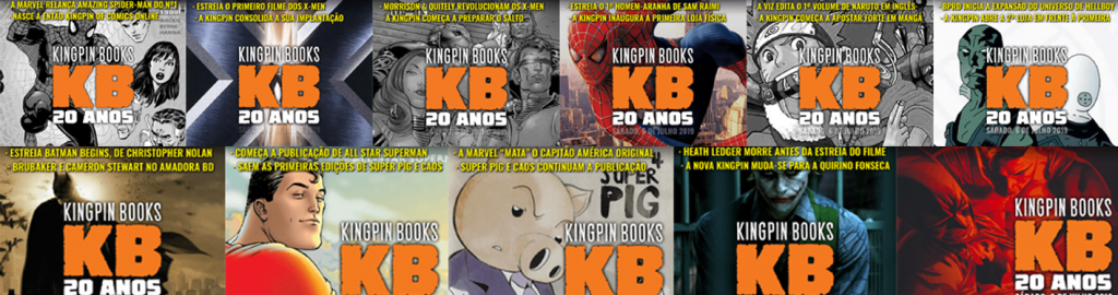 20 Anos Kingpin Books – Countdown pt.1