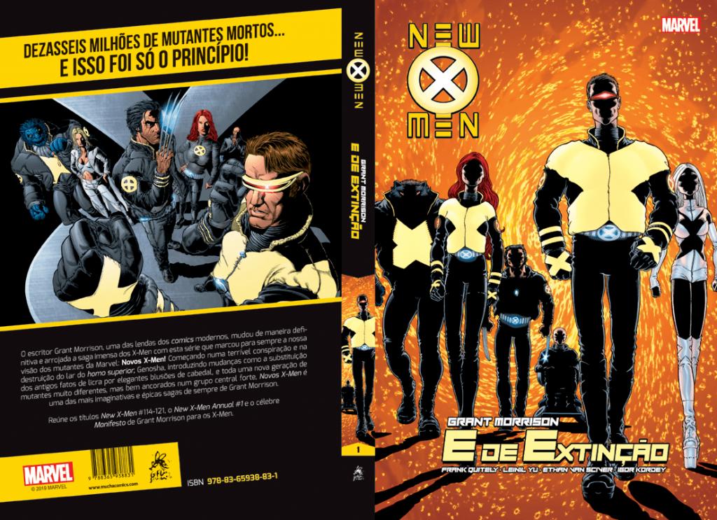 Novos X-Men de Grant Morrison vol.1