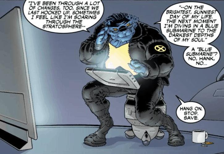 Novos X-Men de Grant Morrison: Beast!