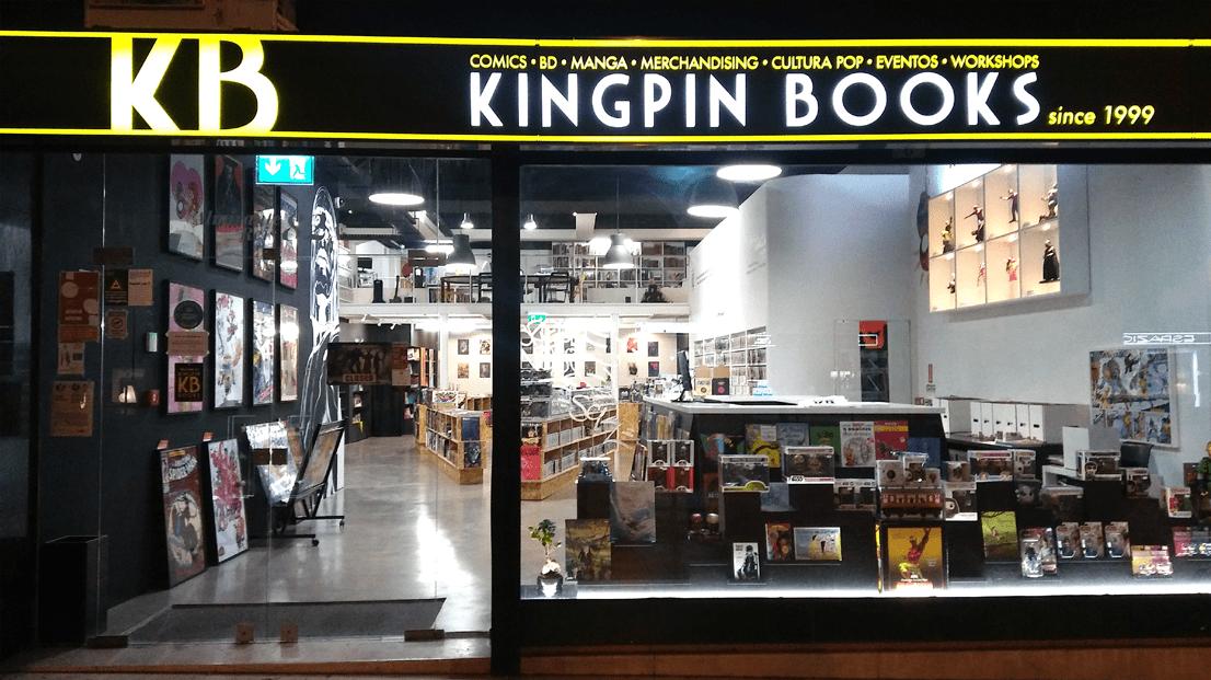 Exterior da loja