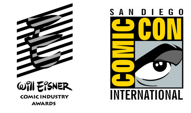 SDCC Eisner Awards Logo