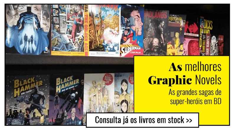 BD e Graphic Novels para todos os gostos!