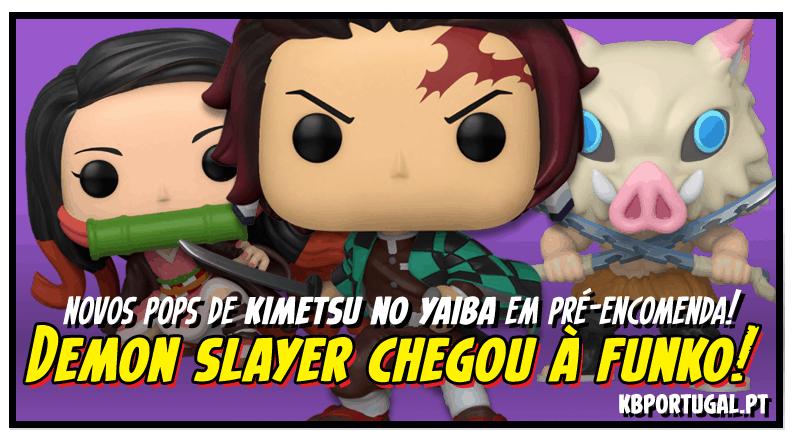 DEMON SLAYER CHEGOU À FUNKO!